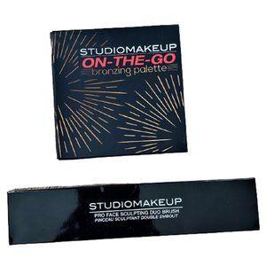 New Studio Makeup bronzer pallette + sculpt  brush